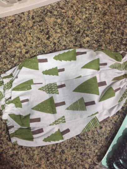 佰润居 北欧风创意棉麻袖套夏季厨房炒菜防油溅手套套袖手家务清洁成人女长款防烫护袖套 铁塔(一对) 晒单图