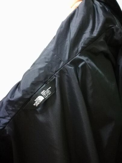 北面(The North Face) 冲锋衣男 防水透气耐磨防风雨外套 2UBL/366T 366T黑色/白色印花3YY XL-180 晒单图
