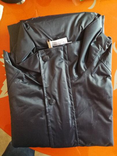 天堂雨衣雨裤套装 单人分体雨衣套装成人男女摩托车户外骑行防风防水 带帽子 深红 S适合155-160cm 晒单图
