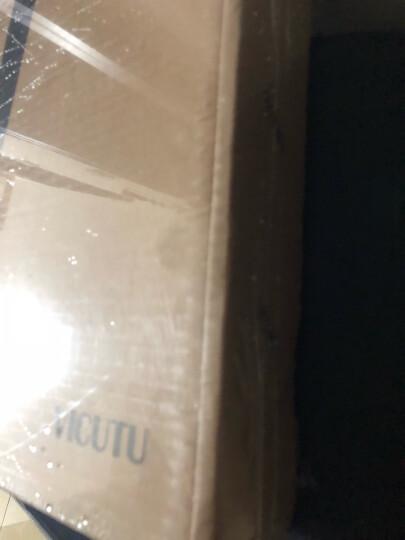 威可多VICUTU男短袖T恤白色纯棉翻领时尚修身休闲POLO衫T恤VRW88263545 白色 175/92A/L 晒单图