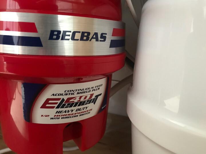 九牧(JOMOO)02081不锈钢厨房双水槽 贝克巴斯(BECBAS)Element40垃圾处理器厨余粉碎机 省心豪华魔力套组 晒单图