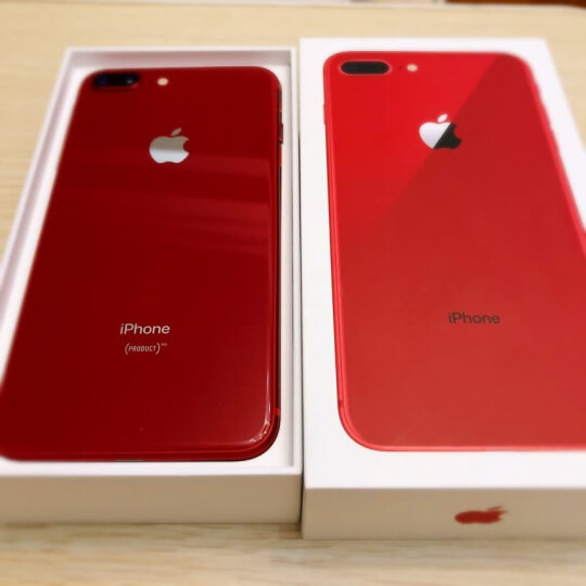 Apple iPhone 8 Plus 64GB 红色特别版 移动联通电信4G手机 晒单图
