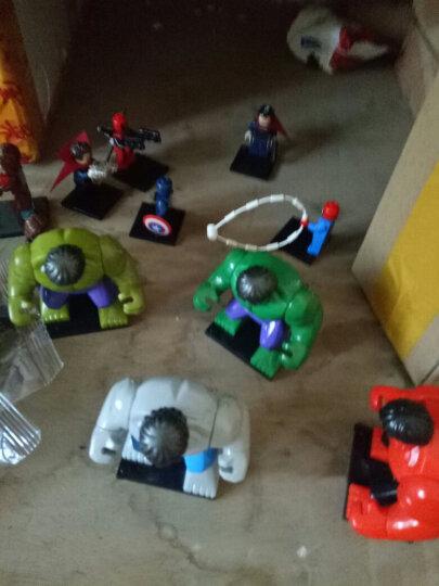 兼容乐高积木 漫威复仇者联盟4终局之战蚁人2钢铁侠蝙蝠侠超级英雄人仔 拼装拼插积木 男孩儿童玩具 钢铁侠 晒单图