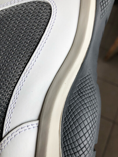 PRADA 普拉达 男士黑色品蓝色织物橡胶皮革拼接时尚运动鞋 4E2905 1O1G F0LZS 5.5/39.5 F ZFT0 晒单图