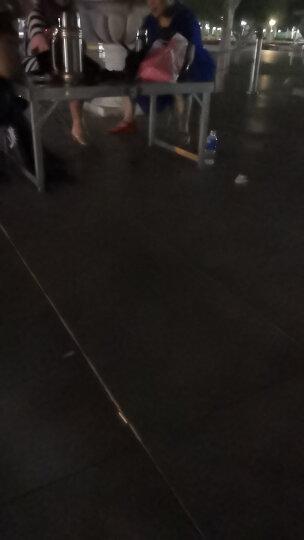 蒂利仕 野餐桌折叠桌户外桌椅组合套装铝合金折叠桌椅便携式分体烧烤桌宣传桌子 单独带孔桌子 108*68*68cm 晒单图