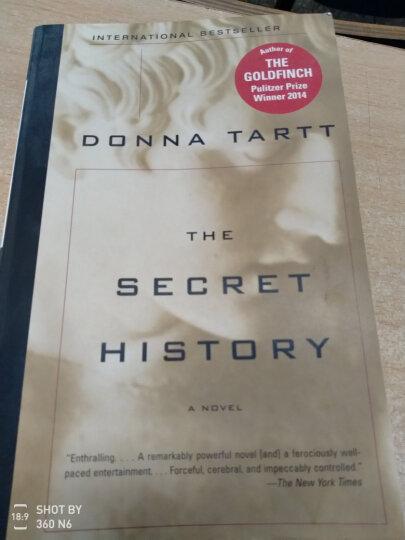 The Secret History[校园秘史] 英文原版 晒单图