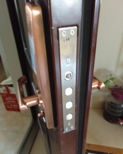 第吉尔(KEYLOCK)【免费上门安装】指纹锁家用防盗门锁密码电子智能锁92A 不锈钢标配 晒单图