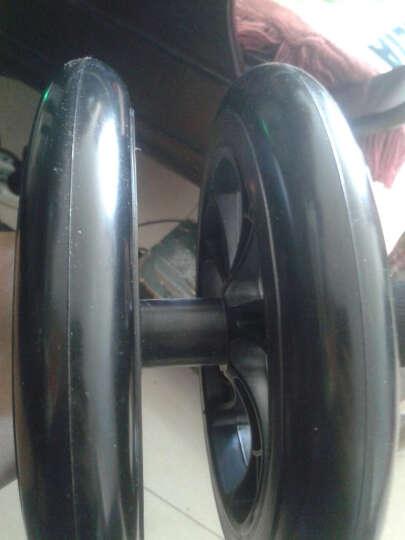 帝威静音健腹轮 200mm巨轮腹肌轮收瘦腰腹轮滚轮健腹器 黑色 其他中小型器材 直径200MM巨轮送助力拉绳+俯卧撑支架+跪垫 晒单图