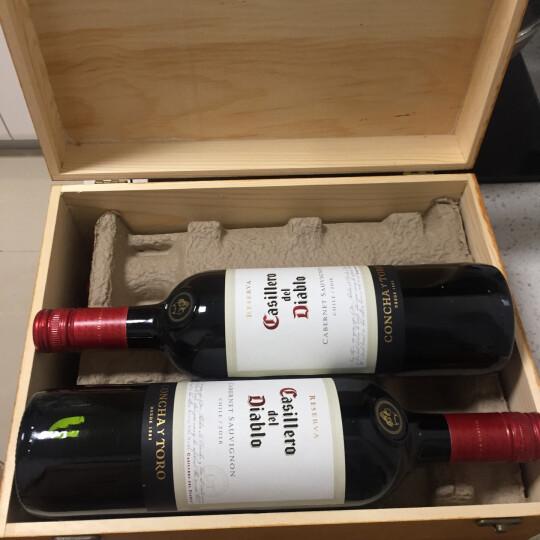 智利红酒原瓶进口 干露红魔鬼Casillero del Diablo葡萄酒 6支组合 整箱装 晒单图