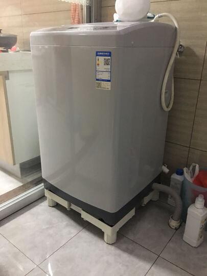 iCreate (创造师)滚筒全自动洗衣机移动固定底座架冰箱底座支架海尔西门子小天鹅通用 升级承重款白色固定4脚-D018 晒单图