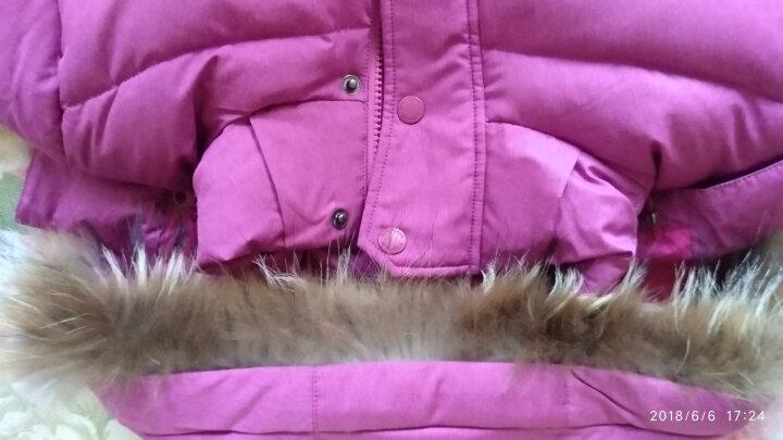 诺诗兰(NORTHLAND) 诺诗兰 女款羽绒服 城市系列 700蓬 GD042702 橙红色 S 晒单图