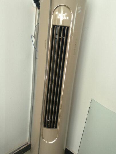 奥克斯倾国空调立式3匹/2匹p柜机变频一级能效冷暖智能APP控制圆柱型立柜式空调静音 大3匹 晒单图