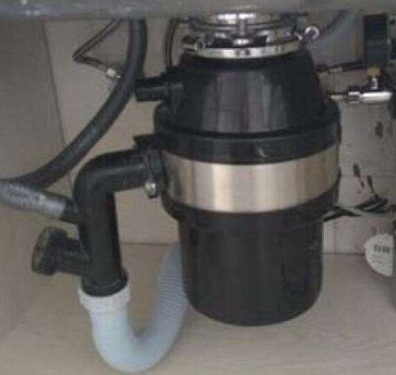 地球公社(EARTHCOMMUNE)垃圾处理器 粉碎机家用厨房厨余E400黑色(全国联保) 黑色 晒单图
