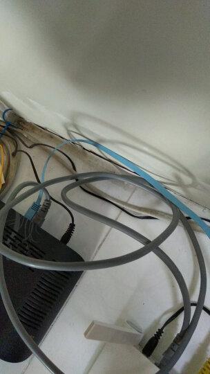 毕亚兹(biaze) 六类CAT6类千兆扁平网线 1米 无氧铜线芯 超高速6类电脑网络跳线 成品网线 WX3-蓝色 晒单图