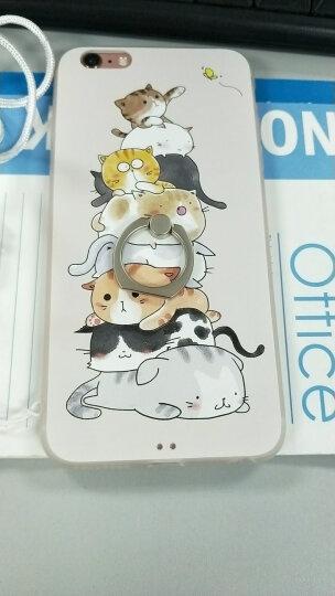 景为 苹果6s手机壳女iphone6s plus套防摔女男浮雕时尚超薄卡通可爱个性全包指环送挂绳 5.5英寸苹果6plus-雏菊+白挂绳 晒单图
