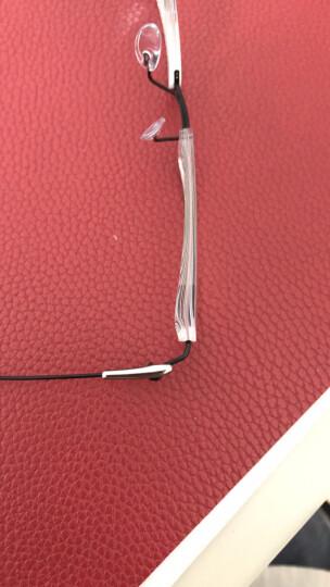 Silhouette 诗乐 男款银色镜框银色镜腿金属半框光学眼镜架眼镜框 5496 75 7101 53MM 晒单图