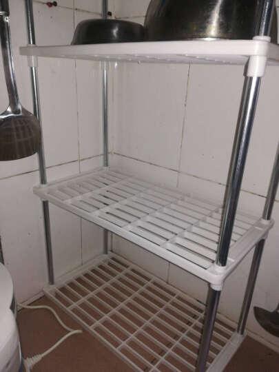 亚思特防锈喷涂微波炉层架/厨房/浴室多用途置物架/收纳架/储物架 4层置物架 晒单图