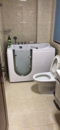 尚雷仕老年人开门浴缸按摩恒温无障碍 冲浪淋浴泡澡两用多功能安全防滑坐式浴缸 豪华SPA+冲浪按摩+恒温+气泡 晒单图