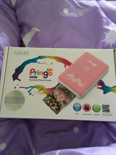 呈妍(Hiti) Pringo P231升级版P232手机照片打印机 便携式口袋相片打印机 P231 100张一盒 晒单图