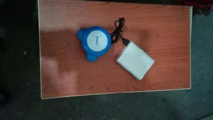 竞怡 水波浪式迷你三角按摩器 小型按摩器迷你USB电池两用电动小型震动按摩器 按摩器 颈部 三角按摩器颜色随机 晒单图