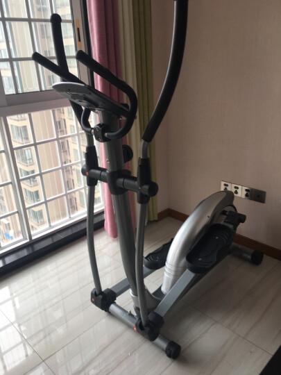 康乐佳 椭圆仪家用太空漫步机健身房登山机室内减肥健身器材迷你小型商用家庭超静音明星同款磁控椭圆机 晒单图