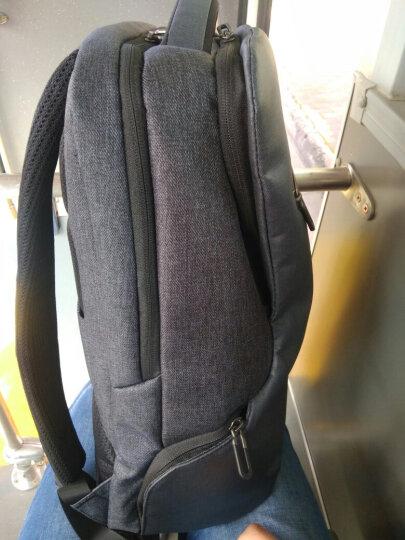 小米(MI)商旅多功能双肩包 商务电脑包15.6英寸 双肩背包 耐磨防泼水 黑色 晒单图