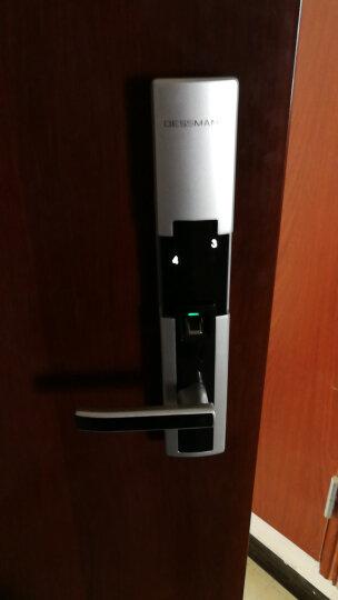 德施曼指纹锁 小嘀T510MY家用指纹锁云智能锁电子锁指纹密码锁防盗门锁 云智能锁+智能猫眼+蓝牙钥匙 晒单图
