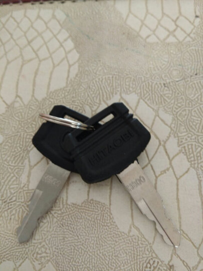 挖掘机配件钥匙日立60/70/120/200/240/330/360-3-6新款钥匙挖机 老款两个钥匙 晒单图