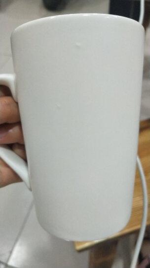 马克杯定制公司logo定做咖啡杯生日礼物纪念情侣订做陶瓷水杯可印文字照片杯子商务会议企业 白色马克杯需要排版 晒单图