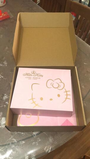 HELLO KITTY生日礼物女创意高档礼盒套装 手柄镜+暖手充电宝镜子+护手霜 520情人节礼物送爱人含手提袋6663 晒单图
