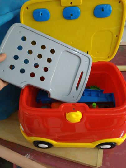 【动漫城】迪士尼儿童DIY益智玩具 无绳串串珠 儿童雪糕机 橡皮泥甜品屋 儿童工具车 米奇奇妙工具屋(商家发货款) 晒单图