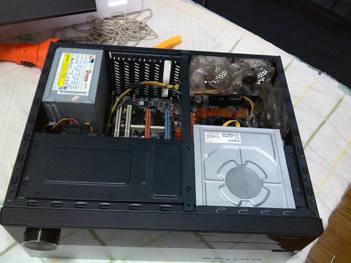 乔思伯(JONSBO) G3 HTPC卧式机箱 银色 晒单图