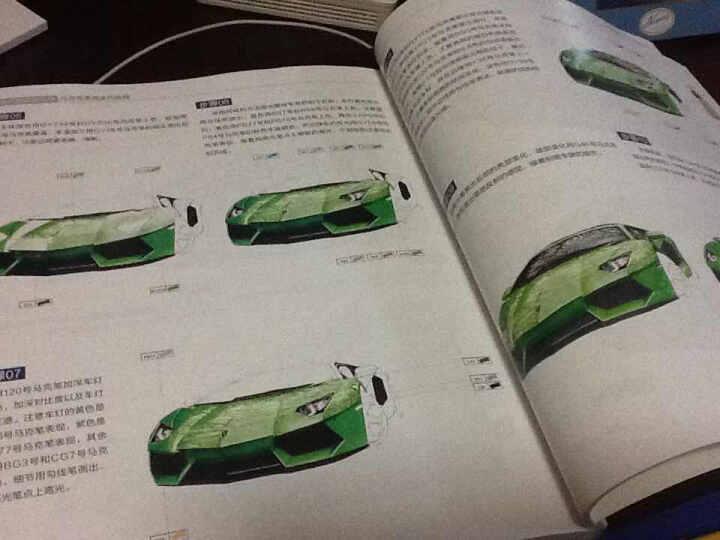 工业产品设计手绘马克笔表现实例教程 晒单图