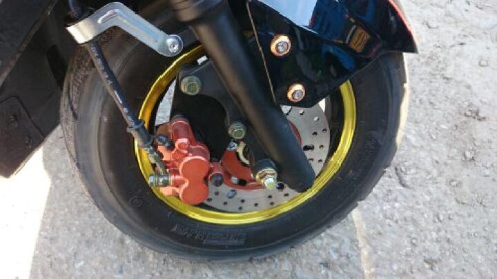 凤燕电动车 迅鹰电动自行车 电瓶车 电摩60v72v 踏板车 助力车 摩托车  自行车 裸车不含电池和充电器60V车架 晒单图