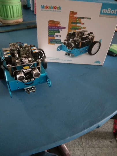 MAKEBLOCK 童心制物  mBot 1.0蓝牙版教育机器人套件 可编程智能机器人智能拼装机器人 蓝牙版 晒单图