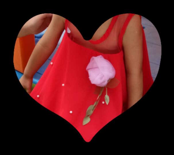 金小淘童装 宝宝连衣裙夏款女童裙子蕾丝拼接套头T恤裙背心裙绣花公主裙A字裙0-3岁 粉色 80码 晒单图