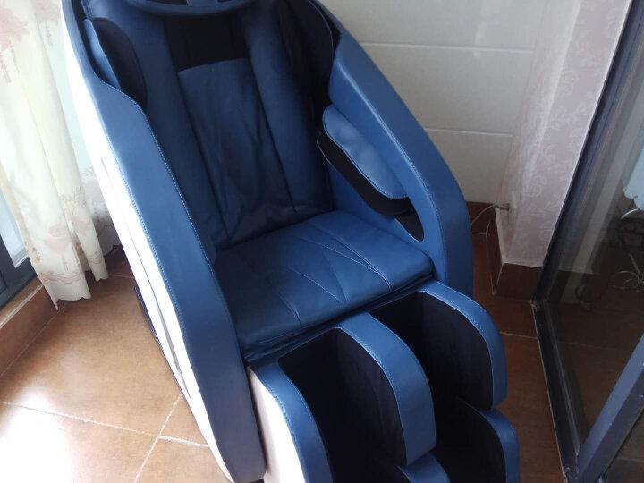 南极人(Nanjiren) 按摩椅家用全身 太空舱 电动智能自动小型多功能老人按摩椅子 按摩沙发 蓝白色豪华升级版-蓝牙音乐版 晒单图
