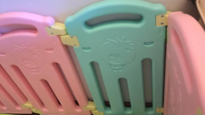 澳乐 宝宝安全爬行学步防护栏栅栏婴儿童家用室内外游戏围栏 12+2 AL-W16093003 晒单图