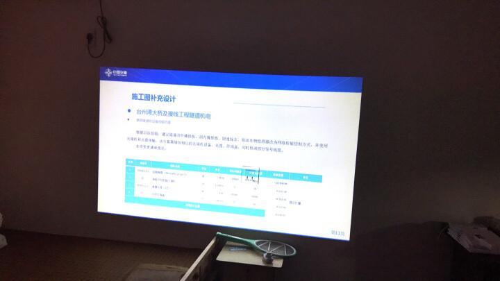 拓兴tx-865/866投影仪家用全高清手机办公教学投影机 TX865 s升级版(带安卓系统+无线wifi) 晒单图