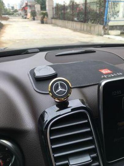 洛玛 多功能车载手机支架汽车用导航仪吸盘式出风口车内车上仪表台通用 蓝色 出风口+吸盘式手机支架 晒单图