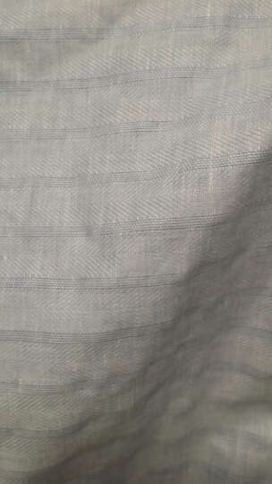 LaSuntin 莫兰迪亚麻靠垫套45cm*45cm 30cm*60cm办公腰靠垫套 粉蓝 条纹 30cm*60cm 晒单图