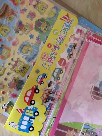 阳光男孩 卡通立体贴画儿童贴纸PVC材质幼儿园小学奖励贴 小鸟9 晒单图