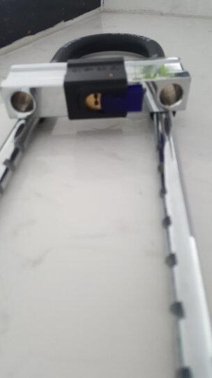 奥妙(aomiao)B65加长抗剪玻璃门锁C级锁芯u型锁防盗锁电动车锁摩托车锁 晒单图