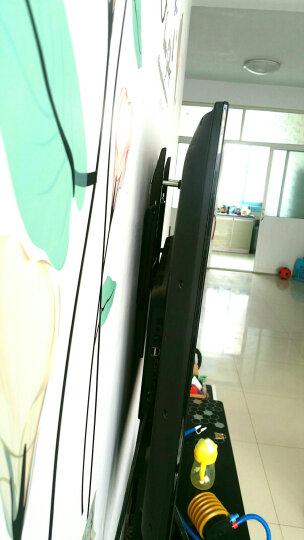 贝石液晶电视机支架通用壁挂架小米红米4A/4C/4X电视挂架乐视TCL夏普海信康佳飞利浦加厚架子 42-110英寸 加强筋板 美观时尚 晒单图