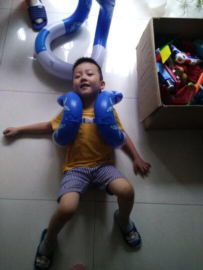 KASITE超弹款儿童/成人泳圈 加厚救生圈 背心式游泳圈 游泳装备 蓝色L码 KY-02 晒单图