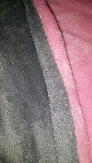 南极人电热垫护膝毯办公加热坐垫电褥子 暖肩暖身暖手暖脚 纯色粉灰80*45cm 7天无理由退换货 晒单图