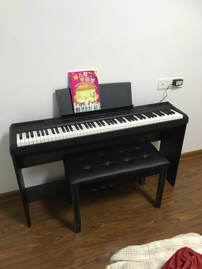 雅马哈YAMAHA乐器 P-115B黑色数码钢琴 晒单图