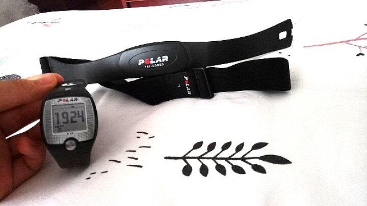 博能(polar) POLAR 博能 心率表有胸带 字体大跑步系列 运动手表男女防水游泳手表 FT1 晒单图