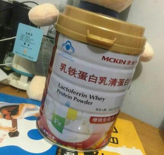 【下单就送】麦金利乳清蛋白粉蛋白质粉可搭增肌粉健身增重增肥健肌粉营养保健品提高增强免疫力 一罐装 晒单图