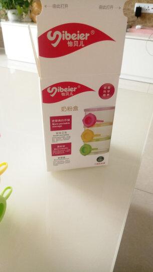 三层奶粉盒大容量奶粉罐外出便携辅食盒密封 宝宝婴儿分格奶粉格分装盒食物存储 奶粉盒三格独立开口 晒单图